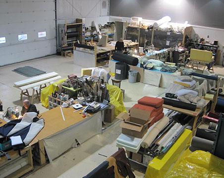Vente de tissus de recouvrement et d'ameublement au mètre (canapé, sofa, fauteuil, chaise, pouf, coussin) à Delson sur la Rive-Sud de Montréal - Rembourrage Canevas Excellence (rembourreur Rive-Sud)