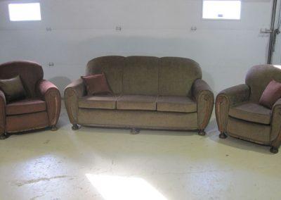 Rembourrage sofa et causeuses à Deslon - Rembourrage Canevas Excellence Inc. sur la Rive-Sud de Montréal et Québec